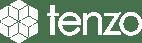 Tenzo Logo White - Small